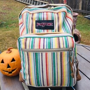 JanSport Right Backpack - Striped Weave